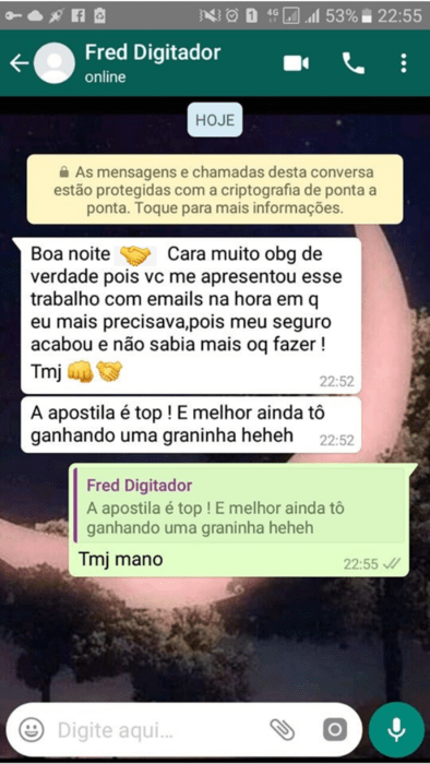 digitador de marketing online é confiável